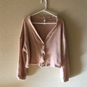 Forever 21 cropped cardigan